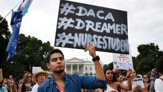 Trump makes DACA deal contingent on border wall financing