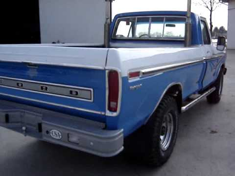 1978 Ford F250 >> Ford F250 Ranger 1975 - YouTube
