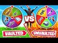 UNVAULTING vs VAULTED  *NEW* Game Mode in Fortnite Battle Royale