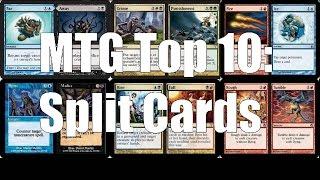 MTG Top 10: Split Cards