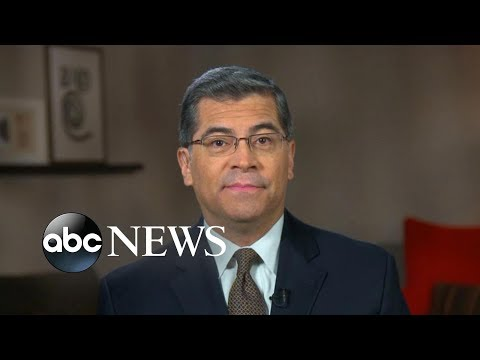 'Definitely and imminently' filing suit against Trump administration: Xavier Becerra