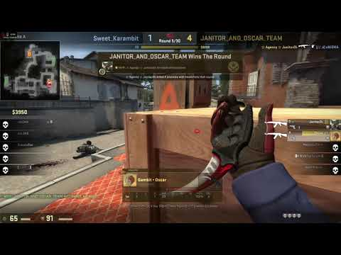 janitor_and_oscar_team VS sweetkarambit de_inferno