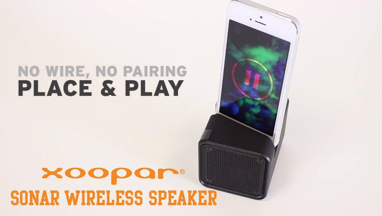 Xoopar - SONAR Wireless Speaker - YouTube