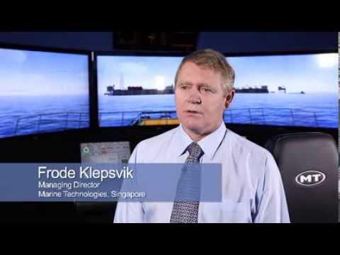 Frode Klepsvik, MD of Marine Technologies and CBS Blue MBA graduate