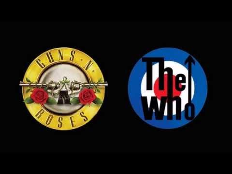 Guns N´ Roses  The Seeker  The Who , audio