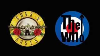 Guns N´ Roses - The Seeker (Live) The Who cover, audio
