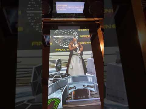 Close up gameplay from Arcade1up Star Wars Pinball , A New Hope Table from Kelsalls Arcade