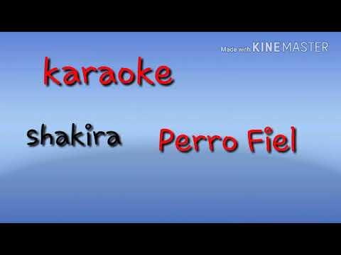 Karaoke kizz ,  Karaoke  Perro Fiel  shakira y Nicky Jam