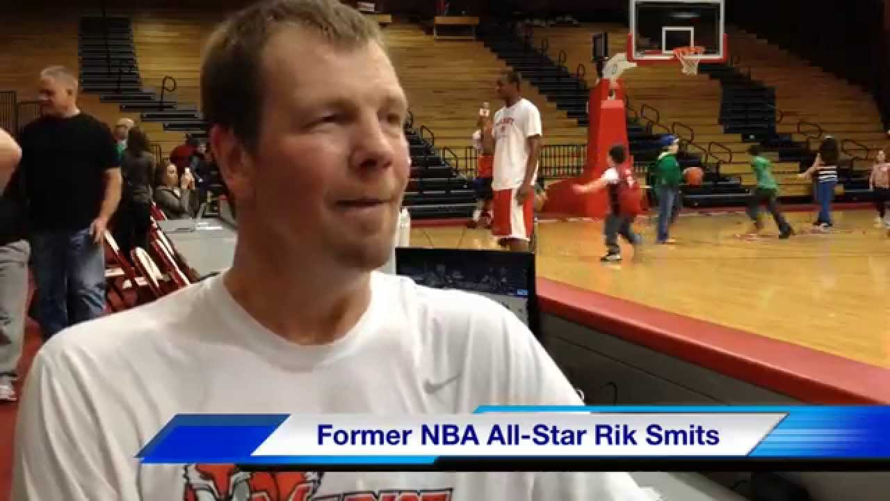 Indiana Pacers great Rik Smits returns to Marist College