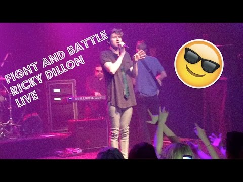 Fight and Battle (Ricky Dillon) LIVE | Alive Gold Tour