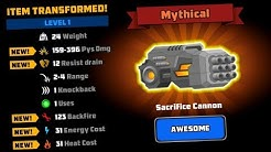 SACRIFICE CANNON - NEW ITEM MAXED [SUPER MECHS]