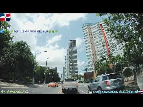 Driving in Santo Domingo Dominican Republic Capital City
