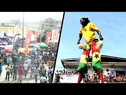 Carnival in Africa| Afeyhia 2017| Fante Festival in Ghana| African Festival Celebration of Life