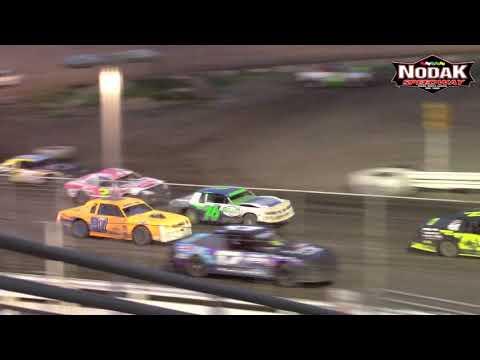 Nodak Speedway IMCA Stock Car A-Main (8/19/18)