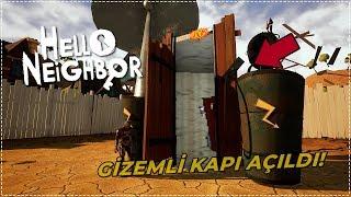 GİZEMLİ KAPIYI AÇTIK!   Hello Neighbor Mod [Türkçe] #198