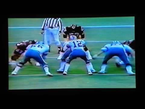 1977 Dallas at Pittsburgh Dorsett 14yd TD run