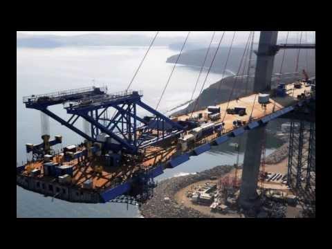 Vladivostok Bridges slideshow by Freyssinet