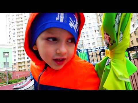 Rain Rain Go Away Vlad saves Toys from the Rain