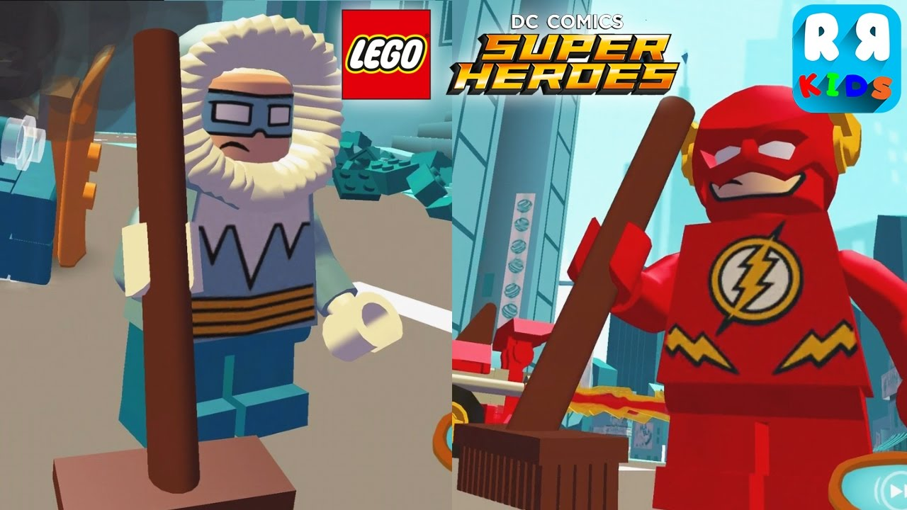 Lego Dc Super Heroes Mighty Micros The Flash Vs Captain Cold Youtube