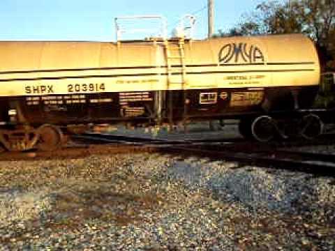 CSX Q588 at Vincennes Indiana