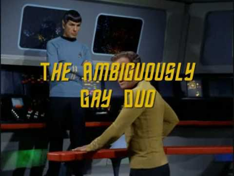 Kirk and spock gay