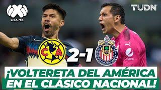 ¡En 2 minutos! América logra la remontada en el Clásico de Clásicos | América 2-1 Chivas AP17 | TUDN