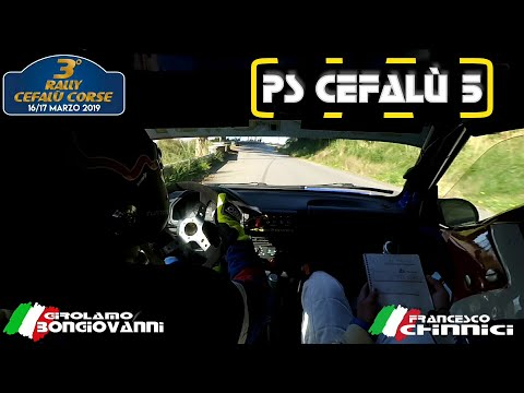 3° RALLY CEFALÙ OBC G.BONGIOVANNI - F.CHINNICI - PS 5 CEFALU' - PEUGEOT 106 N2