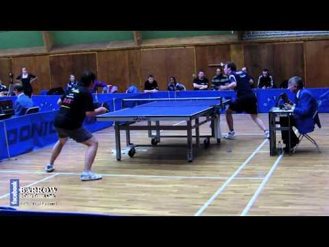 Paul Drinkhall vs. Po Huang Chen (British League T...
