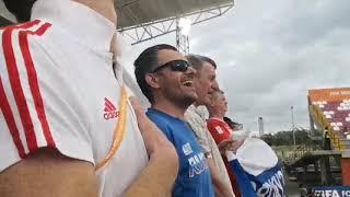 Чемпионат мира по пляжному футболу 2019 Россия Италия Наша команда поёт гимн
