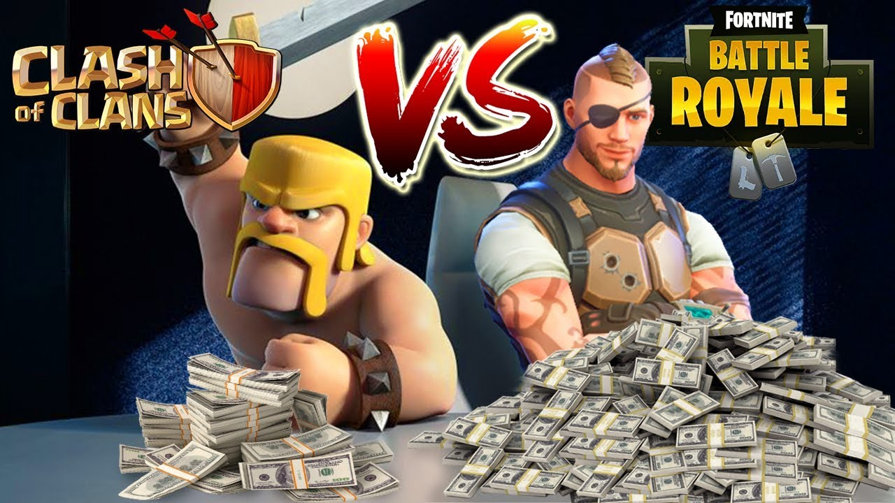 How Much Money Does Clash of Clans  Fortnite Make a Day