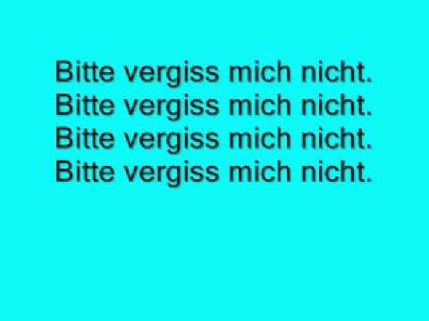 Kay One - Bitte vergiss mich nicht (lyrics)