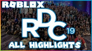 RDC 2019 ALL HIGHLIGHTS AND FEATURES ANNOUNCED! (ROBLOX Developers Conference 2019) | Roblox