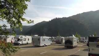 Reisemobil Stellplatz Sonneninsel in Bacharach am Rhein