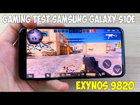 ТЕСТ ИГР НА SAMSUNG GALAXY S10E (EXYNOS 9820) GAME TEST!