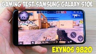 ТЕСТ ИГР НА SAMSUNG GALAXY S10E (EXYNOS 9820) GAME TEST!