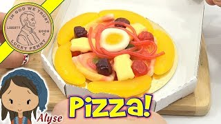 Candy Review Mini Gummy Candy Pizza With Banana! Toysreview Channel