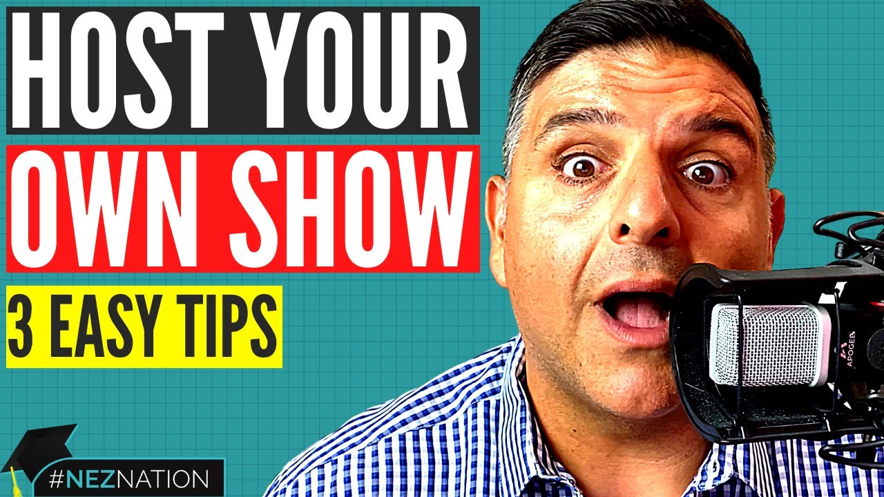 how to become a talk show host