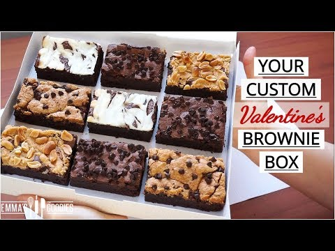 Custom Brownie Box using 1 Base Recipe !