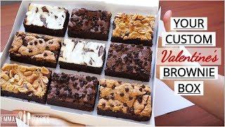 Custom Brownie Box using 1 Base Recipe !