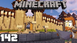 Building with fWhip : CITY CENTER and ROADS #142 MINECRAFT 1.13 Let's Play Single Player Survival