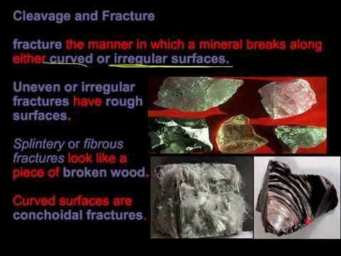 Unit 3 Lecture 1: Minerals