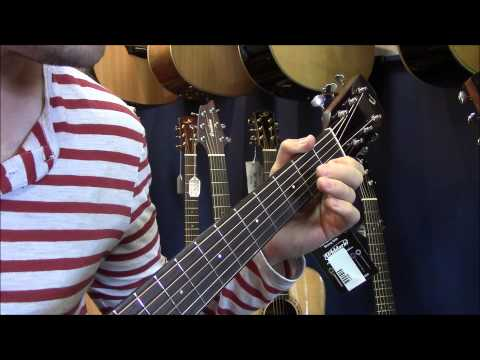 How to play Itsy Bitsy Spider Key of C on Guitar