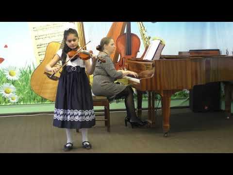О. Ридинг Концерт Си-минор (2,3 часть) Саакян Рита ДШИ г.Петушки