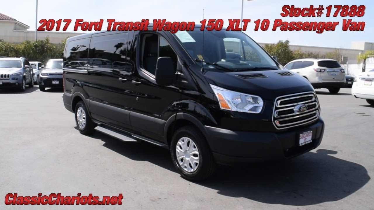 Used 2017 ford transit wagon 150 xlt 10 passenger van for sale in san diego 16888