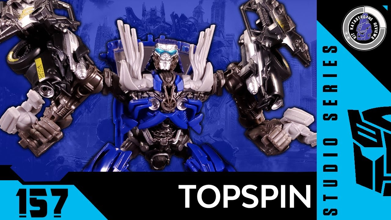 Transformers: Studio Series TOPSPIN Review by Kit Katastrophe