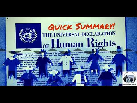 A Quick Guide to the Universal Declaration of Human Rights (UDHR)
