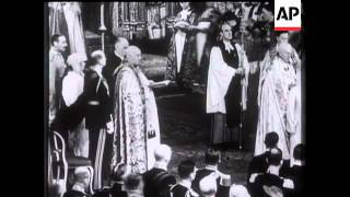 Wedding of the Duke of Kent (Prince George) To Princess Marina - 1934