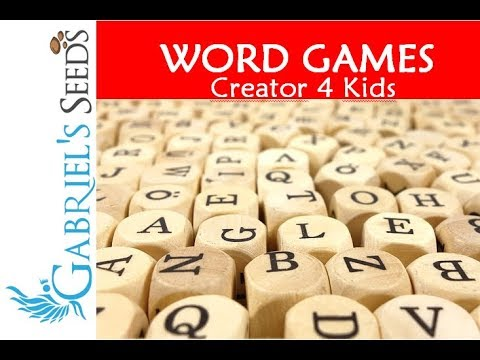 Word Puzzles Maker for Kids by Learning App Generator