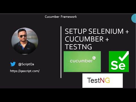 Download Selenium Cucumber Framework - Setup Selenium Java Project With Cucumber and TestNG