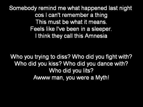 Skepta - Amnesia (Lyrics On Screen)
